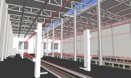 Проектирование с последующим строительством Депо с зданиями обслуживающего цикла