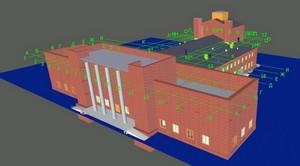 Городской Дворец Молодежи. Информационное моделирование